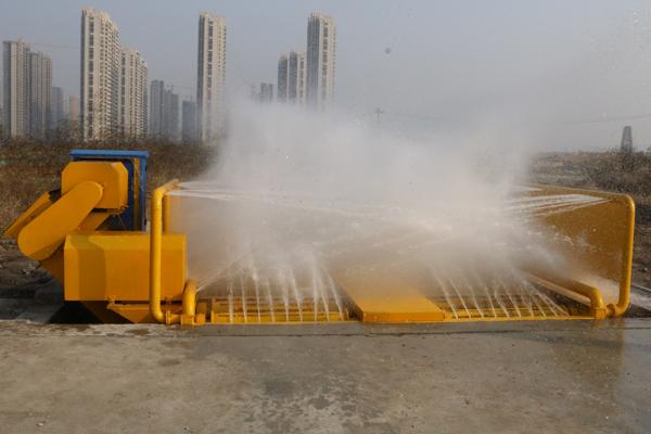 全自动排泥工程洗车机