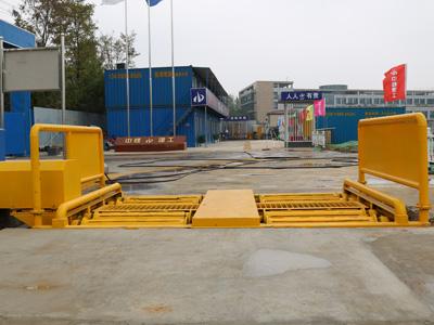 中煤建工正式使用鲁企环科滚轴洗轮机产品