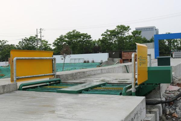 大型工地环保洗车机