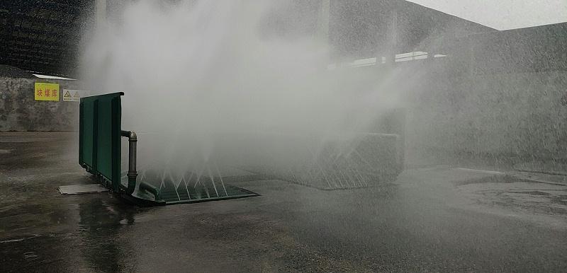煤棚煤场洗车台