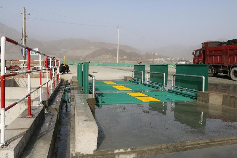 全自动码头煤场洗轮机