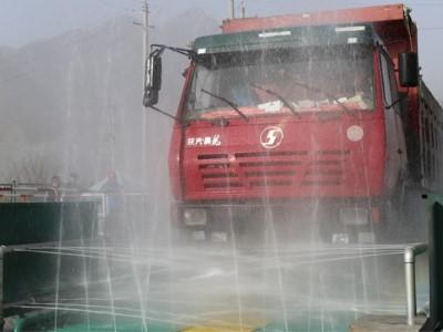 150吨工地洗轮机-低成本高受重吨数是你工地需要吗[鲁企环科]